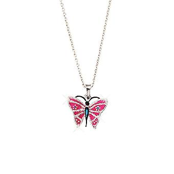 Scout children necklace chain silver butterfly glitter girls girls 261071200