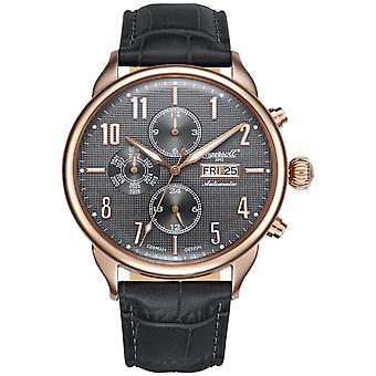 Ingersoll men's watch wristwatch automatic Jeffords IN1415RGY