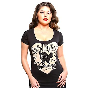 Lucky 13 ladies T-Shirt prowl