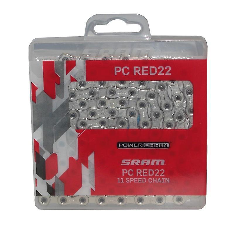 SRAM PC röd 22 11-speed kedja / / 114 länkar