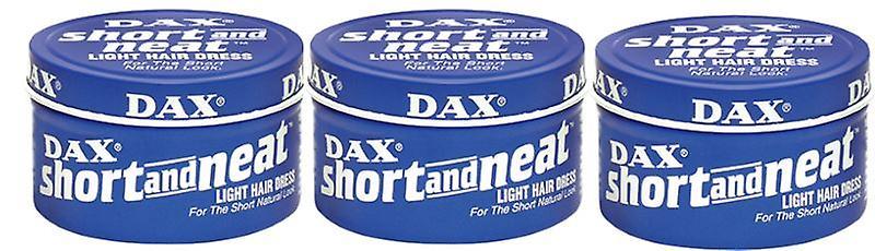 3x DAX Short and Neat Light Hair Dress 99g (297g)