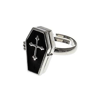 Attitude Clothing Coffin Ring