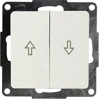 GAO Insert Shutter switch Business Line White EFE200B w