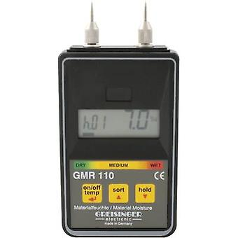 Greisinger GMR 110 Moisture meter Building moisture reading range 0 up to 100 vol% Wood moisture reading range 0 up to 100 vol%