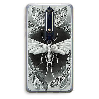 Nokia 6 (2018) boîtier Transparent (doux) - Tineida de Haeckel