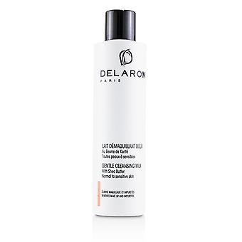 Delarom Gentle Cleansing Milk - For Normal To Sensitive Skin - 200ml/6.7oz