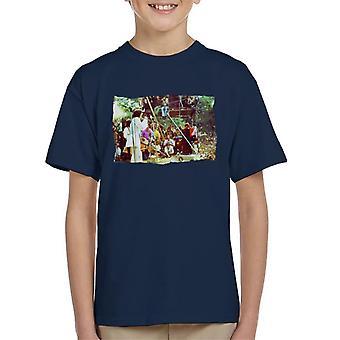 TV volte Rolling Stones Festival t shirt bambino