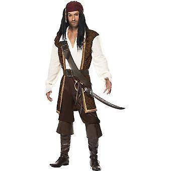 High Seas Pirate Costume, Chest 38
