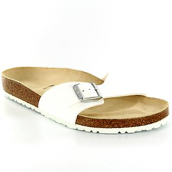 Mens Birkenstock Madrid Slip op vakantie sluiting zomer strand sandalen
