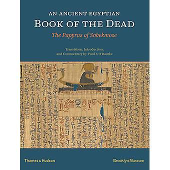 Ein altes ägyptische Buch der Toten - der Papyrus der Sobekmose von Pau