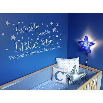 Twinkle Twinkle Little Star ścienne naklejki