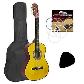 3/4 mano izquierda tamaño de guitarra clásica para niños