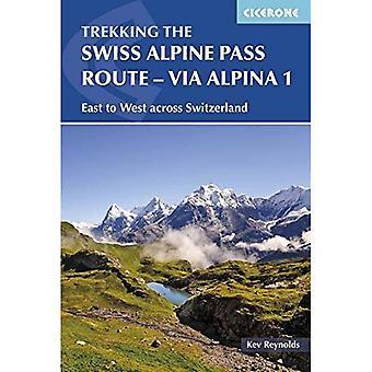 Den schweiziska alpina Pass rutt - Via Alpina 1