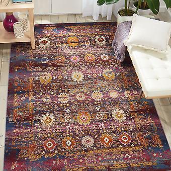 Vintage Kashan VKA03 rote Multi Rechteck Teppiche traditionelle Teppiche