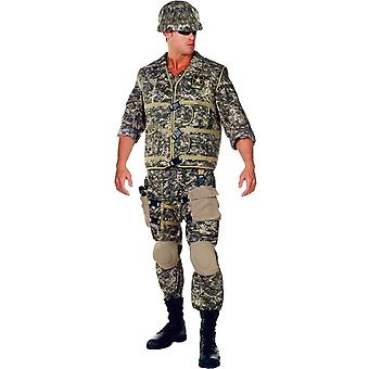 Army Soldier Adult Costume