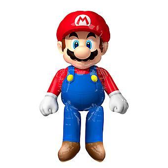 Airwalker gigant balon Super Mario 152 x 91 cm slide balon figura balon