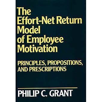 Le modèle de EffortNet retour des principes de Motivation employé de Propositions et Prescriptions par Grant & C. Philip