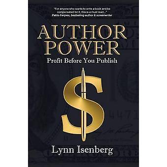 Autor macht Gewinn vor dem Veröffentlichen von Isenberg & Lynn