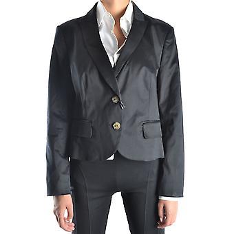 Rode Valentino Ezbc026007 Dames's Black Cotton Blazer