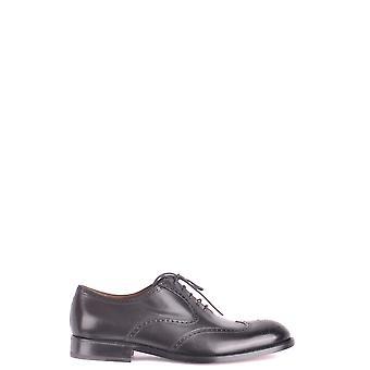 Fratelli Rossetti Ezbc052008 Men's Black Leather Lace-up Shoes