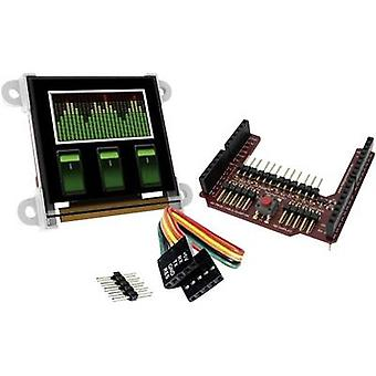 Development board 4D system uOLED-128-G2-AR