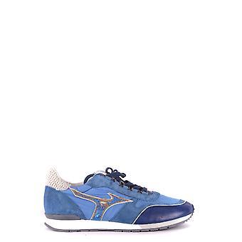 Mizuno Ezbc199006 Män's Ljusblå Mocka Sneakers
