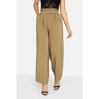 Girls On Film Womens/Ladies Arlo Paperbag Trousers