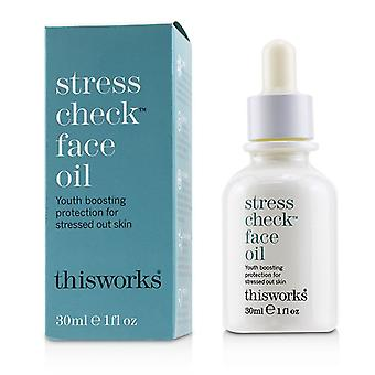 This Works Stress Check Face Oil - 30ml/1oz