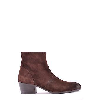 Henderson Ezbc230001 Women's Brown Suede Ankle Boots