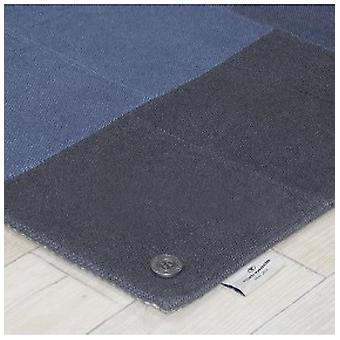 Teppiche - Tom Tailor Patch Denim - blau