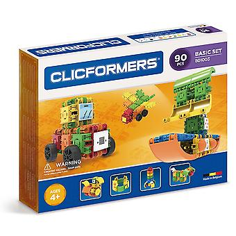 Clicformers Basic 90 PCS Set Building and Construction Toy