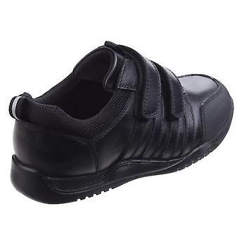 Hush Puppies pour enfants/garçons Josh Jnr Touch fixation des chaussures en cuir