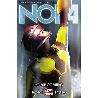 Nova Volume 6 Homecoming by Gerry Duggan & esittäjä David Baldeon