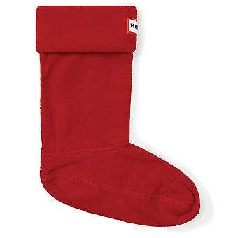 Hunter Kinder Wellington Boot Socken - Military Red