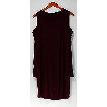 Anybody Dress Loungewear Brushed Hacci Burgundy Red A297424