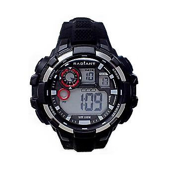 Radiant new crash Digital Quartz Man Watch with RA439602 Silicone Bracelet
