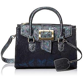 Laura Vita 2984 - Blue Woman handbag (Blau (Bleu)) 13x20x28 cm (B x H T)