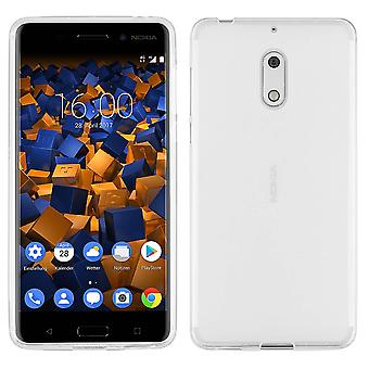 Nokia 6 Siliconen Hoesje Transparant - CoolSkin3T