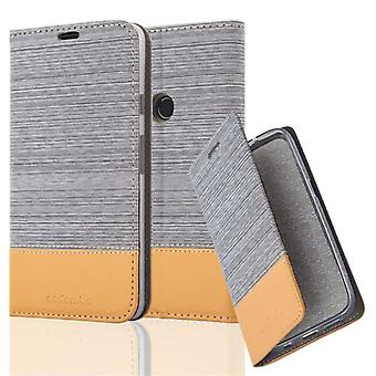 Futerał Cadorabo do obudowy Google Pixel 2 XL - Etui na telefon z magnetycznym zapięciem, funkcją stojaka i komorą na kartę - Obudowa ochronna Case Book Folding Style