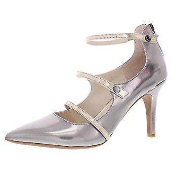 Alfani Womens Siennah Fabric Pointed Toe Ankle Strap Classic Pumps