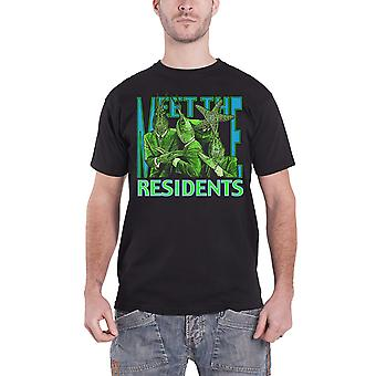 Residents T Shirt Meet The Residents band logo new Official Mens Black