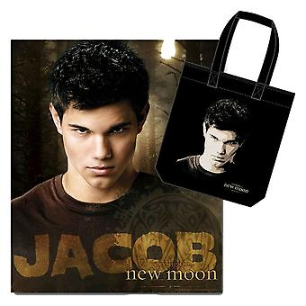 The Twilight Saga New Moon Tote & Fleece 2 Pk Jacob Tattoo