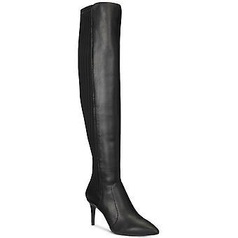 INC International Concepts Womens Izetta Tissu Pointed Toe Over Knee Fashion...