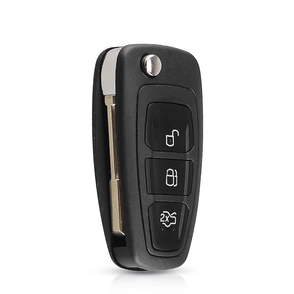 3 Buttons Ford FO21 blade folding remote key shell