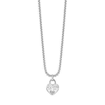 Guess Jewellery Guess All About Shine Silver Necklace UBN82094