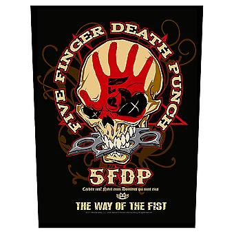 Five Finger Death Punch - Ryggmärke - Way Of The Fist