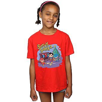 DC Comics meisjes Super vrienden Sorry Santa T-shirt