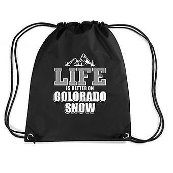 Black backpack gen0087 colorado snow