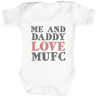 Mnie idealna tekst Tatuś miłość MUFC Baby Body / Babygrow