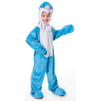 Childrens Dolphin Fancy Dress Costume (5-6 Years)